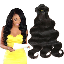 Wholesale Chinese Sale Beauty - Big Sale 7A Brazilian Indian Peruvian Malaysian Unprocessed Virgin human hair weave Body Wave 3pcs lot Hot Beauty Hair Products