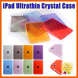 Wholesale Case For Folding Glasses - ipad case Apple iPad 2 3 4 Mini 1 2 3 4 Air 2 Pro Crystal Clear Transparent Soft TPU Shockproof Back Case
