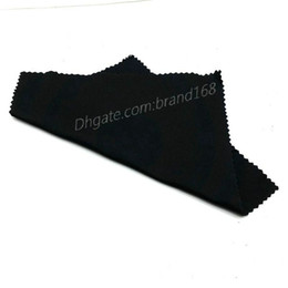 Wholesale Sunglasses Cheap Prices - 100% NEW MEN'S WOMEN'S SUNGLASSES CLOTH BLACK COLOR CLEANING CLOTH CHEAP PRICE TOP QUALITY FAST SHIP.