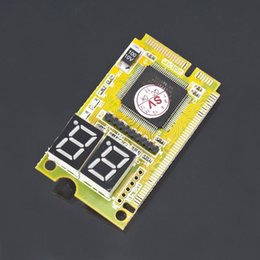Wholesale Mini Pci E Post Card - 3 in 1 Mini PCI-E LPC PC Analyzer Tester Diagnosis Diagnositic POST Card Test For Notebook Laptop
