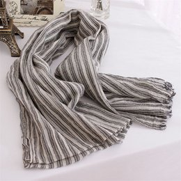 Wholesale Male Stripe Scarf - 200*85cm New 2016 High Quality Fashion Winter Women Female Male Scarf Striped