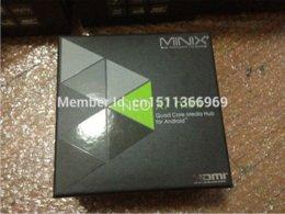 Wholesale Minix Neo Mini X7 - Quad core tv box minix neo x7 mini with android 4.2 os rk3188 rj45 bluetooth 4.0 wifi ddr3 2gb to 8 gb