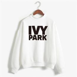 Wholesale Winter Park - Wholesale- Beyonce IVY PARK Sweatshirt Winter Women 2017 Womens Sweatshirts Hoodies Long Sleeve Fleece Print Tracksuit Hoodies NSW-20003