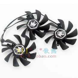 Wholesale Galaxy Display Card - Display cooling fan for GALAXY GTX580 HOF GA92O2H 0.35A graphics card fan