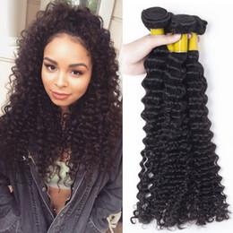 Wholesale Dream Machine - Wholesale Hot Nice Dream Products 3Pcs Brazilian Deep Curly Hair Grade 7A Brazilian Hair Bundles Brazilian Deep Wave 100% Human Hair Weave