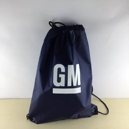 Wholesale Backpack Logos - CUSTOM 210D polyester drawstring bag sport bag with 35*40 cm size custom logo printing free shipping