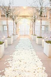 sacos de tapete por atacado Desconto Pétalas de flores de casamento de seda rosa barato 1000 pcs muito frete grátis flores artificiais festa de aniversário de casamento decorações frete grátis