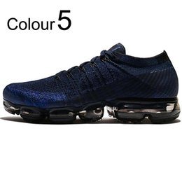Wholesale Ivory Plastic - New Air Vapormax 2018 Mens Running Shoes For Men Sneakers Women Fashion Athletic Sport Shoe Hot Corss Hiking Jogging Walking Outdoor Shoes