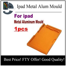 Wholesale Lcd Glass Mould - 1pcs For ipad 4 mini 6 Metal Aluminum Alignment LCD Outer Glass Lens Mould Mold Broken Display Digitizer For Ipad Refurbishment