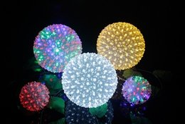 2019 lámparas de burbujas de agua Lámpara de bola de flores LED lámpara de bola de cerezo cejas Xiuqiu luces luces de flash luces de cadena luces de Navidad bola bola decorativa