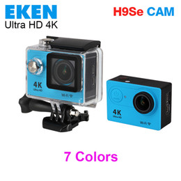 Wholesale Cheap Rock Climbing - EKEN H9se 4K Action Camera Wifi 2 inch LCD WIFI HDMI 30M Waterproof 12MP 2.7K 1080P 60fps Sports DV Helmet Cam Cheap H9 DHL 5pcs