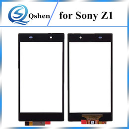 Wholesale Xperia Screen Replacement - High Quality A+++ Grade 5.0 inch for Sony Xperia Z1 L39h Touch Screen Digitizer Replacement Parts One by one check