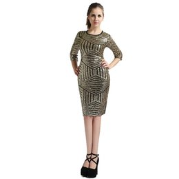 Wholesale Cheap After Dresses - Cheap efore and after the new dress sexy skirt gauze bandage Sequin stitching dress fashion club LYQ090