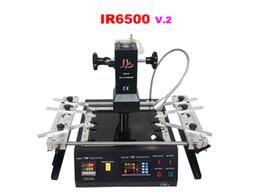 Wholesale Bottom Jigs - Infrared BGA Repair machine LY IR6500 V.2, bigger preheat area 240*200mm, USB port, bottom 2 PC fan, PCB jigs 6 pcs