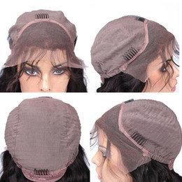 Wholesale Swiss Lace Make Wigs - Free Shipping Wigs Cap Swiss Lace Front Full Lace Wigs Caps For Making Wigs With Ajustable Strands and Combs