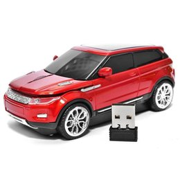 Wholesale Mini Suv Car - New Wireless Mouse 3D Sport Car Shape Usb Optical Cordless Mini Gaming Mouse SUV Shape Optical Super Car Mice For PC Laptop