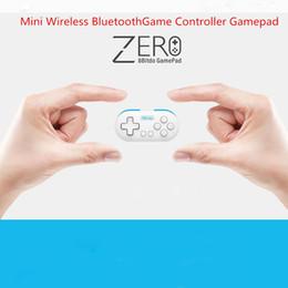 Mini bluetooth del controller di gioco online-8Bitdo Zero Mini Controller di gioco Bluetooth senza fili Joystick per Gameie Selfie per PC a distanza Scatto remoto Indicatore di modalità LED