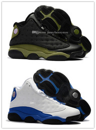 Wholesale Lowest Price Men S Shoes - Cheap Price New XIII 13 CP3 mens Basketball Men Shoes 13s Black Orion Blue Sunstone Athletics Sneakers Sports shoe 13's Trainers