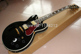 Wholesale Electric Guitar K - Wholesale-Hot selling!!! BB K ing Lucille Electric Guitar black color with Gold hardware in stock