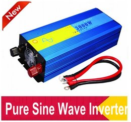 Wholesale Inverter For Home - DHL FedEx UPS free shipping continue power 3000w 6000w dc-ac inverter pure sine wave for solar wind generator home use