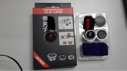 Effets pour appareil photo de téléphone portable en Ligne-Caméra universelle pour téléphone portable. Effets externes Self shots. Objectif grand angle + macro + Fisheye triple
