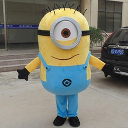 Wholesale Minions Ships For Sale - costumes for adults On Sale! Free Shipping,22 Styles, Despicable Minion Costume For Adults Despicable mascot costume