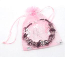 Wholesale Cheap Pandora Beads - 1PCChains Bracelets Fit European Charm Beads Love Black 20cm long (Over $100 Free Express) Cheap charm beads pandora