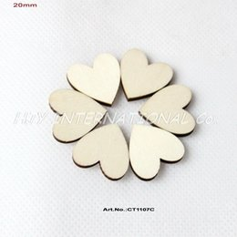 "Wholesale Wooden Earring Blanks - (120pcs lot) 20mm Blank Cutout Love Wood Crafts Earrings Bulk Wooden Hearts ornaments 13 16"" -CT1107C"