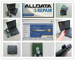 Wholesale Mazda Series - alldata and mitchel car truck series auto repair software with laptop nec touch screen windows7 ready to use dhl free