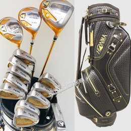 Wholesale Iron Man Star - New Golf clubs HONMA S-03 4 star Complete Clubs set Golf driver+fairways wood+irons+putter+bag Graphite shaf wood headcover Free Shipping