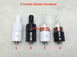 Wholesale Wholesale Element Vapor - Huge Vapor Wax Ceramic Donut Atomizer wickless Ceramic Heating Element Vaporizer without coil Generation 2 Newest Atomizer for Box Mod