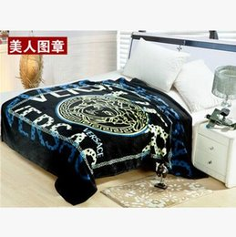Wholesale Fabrics Sofas - Fleece Blankets Crow heart Sofa Blanket On The Bed High Quality Direct Selling Specifications: 150cm X 200cm