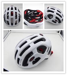 Wholesale Bicycle Helmet Orange Blue - POC Octal 2017 Bicycle Cycling Helmet Casco Ciclismo Capacete Cascos Para Bicicleta Men Women Cycling Helmets Road Size L 54-61cm With Box