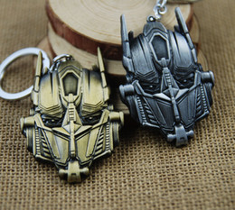 Wholesale Ironman Key Chains - TransFormer 4 Marvel Avengers 2 Ironman Key Chain Metal Keychain Pendant Key Chains Keychains Key Ring Wholesale K41E
