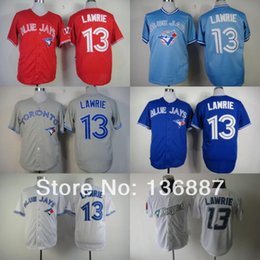 Wholesale Cheap Authentic Cool Base Jersey - Toronto Blue Jays #13 Brett Lawrie,Authentic Baseball Jerseys,2016 New Style Wholesale Cool Base Cheap Jersey,Embroidery Logos