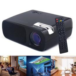 Wholesale Projector Tv Led - BL-20 LED Mini Portable Projector LCD 2600 Lumens Home Theater LCD Proyector Full HD 1080P HDMI USB AV VGA TV DVD Beamer Multi-Media Video