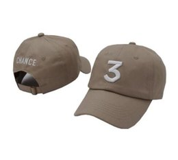 Wholesale Rappers Caps - Chance 3 Coloring Book Dad Hat rapper Streetwear Snapback Baseball cap Kanye West I Feel Like Kobe Pablo drake