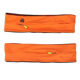 Wholesale Massage Cycling - Wholesale- Daddy Chen Unisex Outdoor Waist Bag Cycling Jogging Running Sport Fitness Massage Anti-slip Bags Malathon Mobile Phone