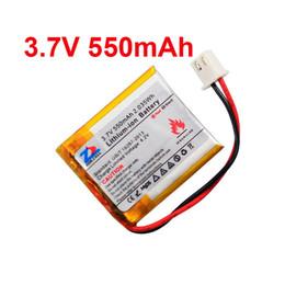 Casque bluetooth batterie rechargeable en Ligne-Dans le noyau 550mAh batterie 304040 3.7V lithium polymère 354040 Bluetooth oreillette souris MP3