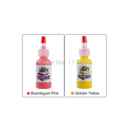 Wholesale Color King Tattoo Ink - Fashion Body Makeup Pigment Color King 14 Colors 0.5oz 15ML Tattoo Ink Set Pigment Cosmetic Color Tattoo Supplies