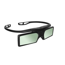 Wholesale Epson 3d Glasses Bluetooth - G15-BT Bluetooth 3D Active Shutter Glasses for Epson Samsung SONY SHARP Bluetooth 3D TV Projector 3D Glasses