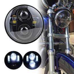 """Scheinwerfer führte motorräder online-Motorrad Zubehör 5 3/4 """"Harley Scheinwerfer 5,75"""" New Harley-David LED Scheinwerfer Für Harley Softail Dyna Sportster XL 883 1200"""