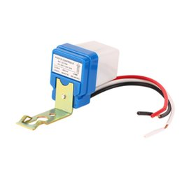 Wholesale Photocell Switches - 1pcs High Quality 12V 10A Auto AC DC On Off Photocell Street Light Photoswitch Sensor Switch Hot Sales