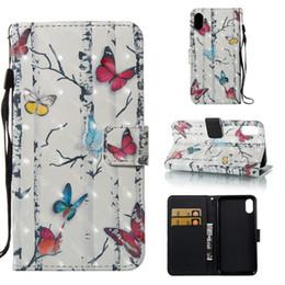 3D окрашенные Ловец снов Сова бабочка Эйфелева башня флип кожаный бумажник чехол для iphone X 8G 7 Plus 6 6 S PLUS 5S SE touch 5/6 от