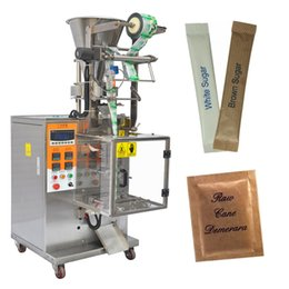 Wholesale Filling Packaging Machines - Fully automatic 1g-50g sugar sachet filling sealing packaging machine small coffee sachet packing machine granule sachet packing machine