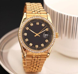 Wholesale Famous Black Models - Newset 38MM model Luxury Fashion lady dress watch Famous Brand full diamond Jewelry Women watch High Quality free shipping