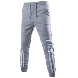 Wholesale track bottom men - Wholesale-Mens Joggers New Fashion:Casual Harem Sweatpants Sport Pants Trousers Sarouel Men Tracksuit Bottoms For Track Training Jogging