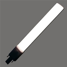 Wholesale G23 6w - Epistar 4W 6W 8W PL LED Bulb with G23 Bases Indoor LED Lights with PC Cover and Aluminum Radiator OED-G23-6W