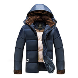 Wholesale Men Fur Thickening Coat - 2016 hot buy jacket thick fur fashion casual men coat windproof coat and thickening of the size of a warm coat