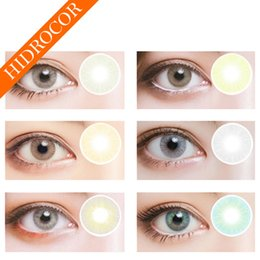 Wholesale Color Eyes Lens - Hot Selling Hidrocor contact lenses Big Eye Color Contacts wholesale colored contacts ready stock free shipping